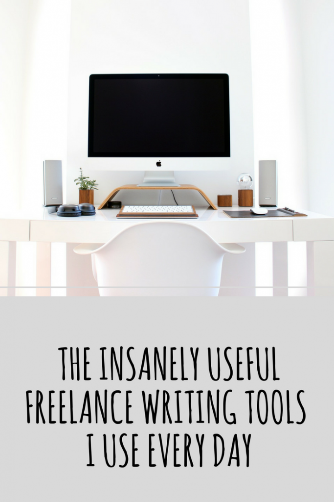The Insanely Useful Writing Tools I Use Every Day