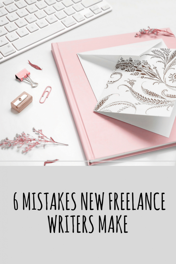 mistakes new freelance writers make
