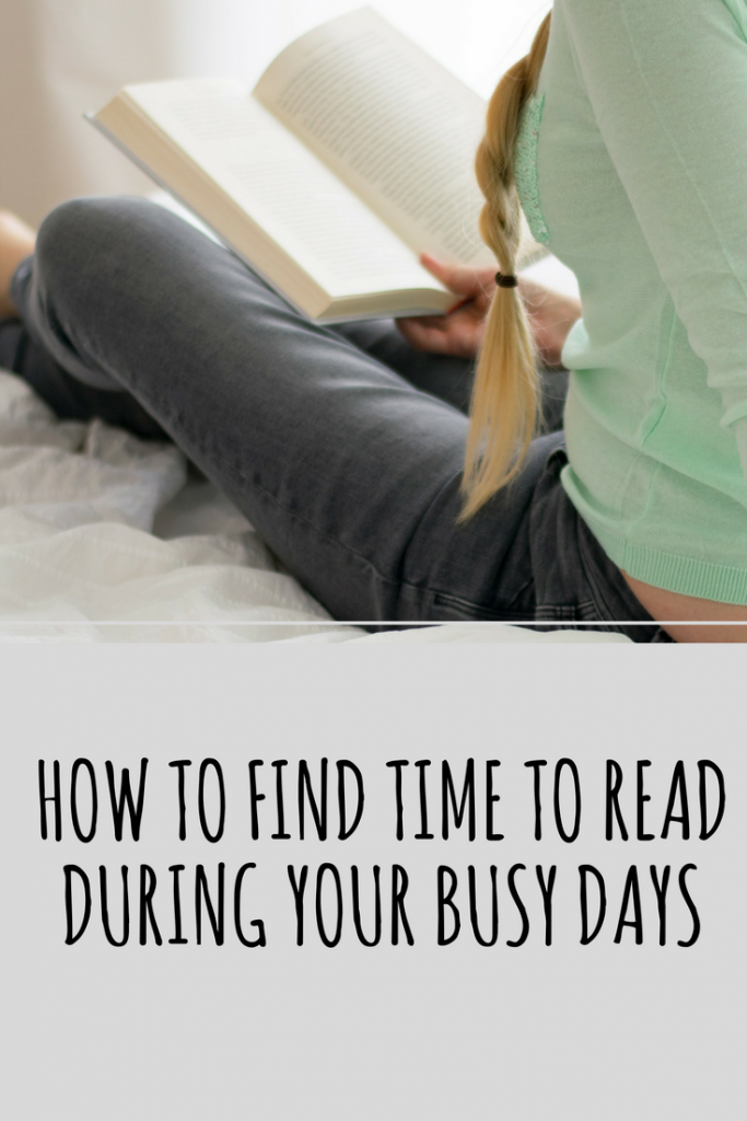 How to Find Time to Read During Your Busy Days