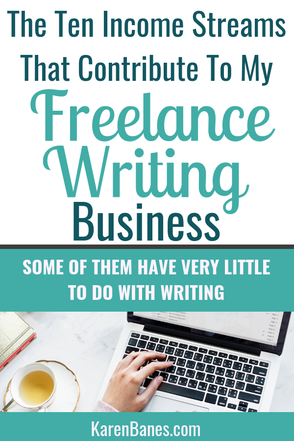 The Ten Income Streams That Contribute To My Freelance Writing Business