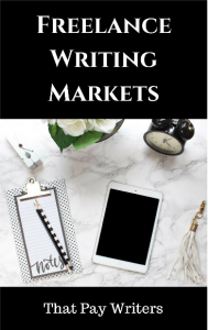 Freelance Writing Markets that Pay